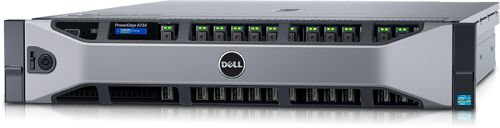 "Сервер Dell 210-ACXU-268 PowerEdge R730 2xE5-2620v4 x16 2.5"" RW H730 iD8En 5720 4P 2x750W 3Y PNBD TPM"