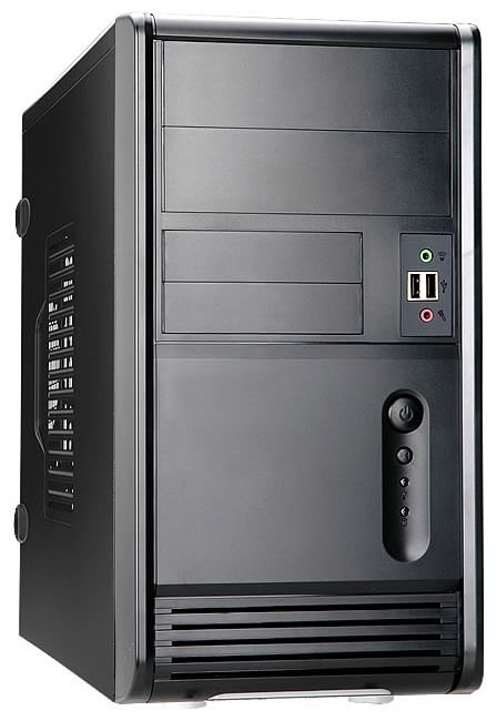 Купить Корпус IN WIN 6120744 Mini Tower EMR006 RB-S450HQ7-0 H U2.0*2+A(HD) mATX Black, Inwin