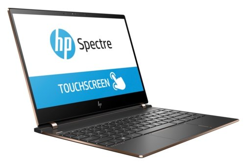 "Ноутбук 13.3"" HP 2PQ03EA Spectre 13-af005ur Core i7 8550U/16Gb/SSD1Tb/Intel HD Graphics 620/UWVA/Touch/UHD (3840x2160)/Windows 10 64/dk.grey/WiFi/BT/C"