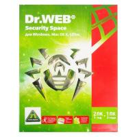 ПО Dr.Web BHW-B-12M-2-A3 DR.Web Security Space 2-Desktop 1 year Base Box