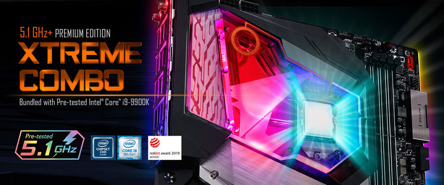 GIGABYTE представляет комплект Z390 AORUS XTREME WATERFORCE 5G Premium Edition
