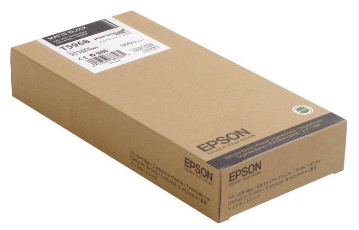 Купить Картридж Epson C13T596800 для Stylus Pro 7900/9900/7700 матовый черный 350 мл