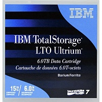 Картридж IBM 38L7302L Ultrium LTO7 Tape Cartridge - 6TB with Label (1 pcs)