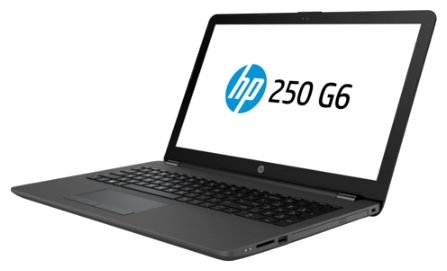 "Ноутбук 15.6"" HP 2SX52EA 250 G6 Celeron N3350/4Gb/500Gb/DVD-RW/SVA/HD (1920x1080)/Windows 10 Home/WiFi/BT/Cam"