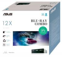 Привод ASUS BC-12D2HT/BLK/B/AS/P2G Привод bulk, blu-ray combo, internal; 90DD0230-B30000