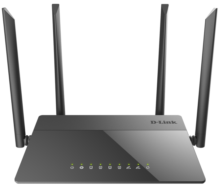 Маршрутизатор D-Link DIR-841/RU/A1A, Wireless AC1200 Dual-Band Router with 1 10/100/1000Base-T WAN port and 4  10/100Base-TX LAN ports.802.11b/g/n compatible, 802.11AC up to 866Mbps,1 10/100/1000Base-T WAN port, 4