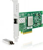 Адаптер HP QLogic 81Q PCIe FC HBA Single Port (AK344A)