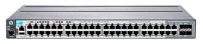 Коммутатор HP J9729A 2920-48G-PoE+ 44x10/100/1000 PoE+, 4xSFP or 10/100/1000 PoE+, 2 module slots for 10G, Managed Static L3, Stacking, 19