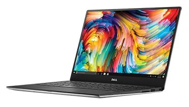 Ноутбук Dell 9360-5563 XPS 13 Core i7 8550U/16Gb/SSD512Gb/Intel HD Graphics 620/IPS/Touch/QHD (3200x1800)/Windows 10 Home/silver/WiFi/BT/Cam