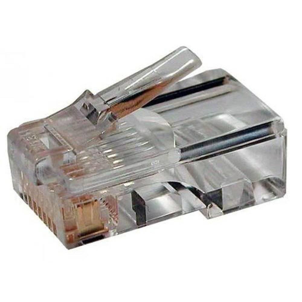 Купить Коннектор RJ-45 (8p8c) cat.5е для одножильного и многожильного кабеля, LanCable