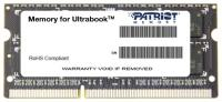 Модуль памяти PATRIOT PSD34G1600L2S SODIMM 4GB PC12800 DDR3