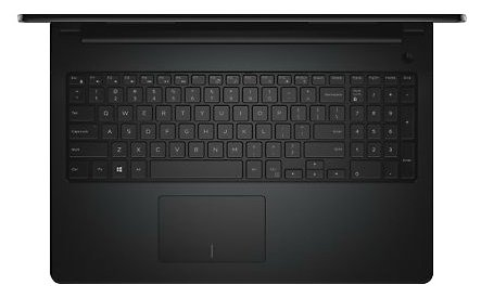 "Ноутбук 15.6"" Dell 3552-3844 Inspiron 3552 Celeron N3060/4Gb/500Gb/DVD-RW/Intel HD Graphics 400/HD (1366x768)/Windows 10 64/black/WiFi/BT/Cam/2700mAh"