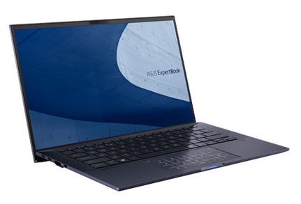 Ноутбук ASUS ExpertBook B9450FA-BM0341R Core i5-10210U/8Gb/512Gb SSD/14,0 FHD IPS 1920x1080/NumberPad/Wi-Fi 6 (802.11ax)/BT/HD IR/FP/Windows 10 Pro/0.88Kg/Gray/Sleeve, Micro HDMI to RJ45 Cable