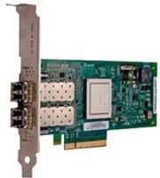 Контроллер Dell 406-BBBH QLogic QLE2662, Dual Port, 16Gbps Fibre Channel PCIe HBA Card Low Profile