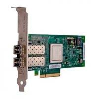 Контроллер Dell 406-BBEL QLogic QLE2562, Dual Port, 8Gbps Optical Fibre Channel PCIe HBA Card Low Profile