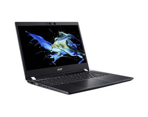 "Ноутбук ACER TravelMate X3 TMX314-51-M-500Y, 14"" FHD(1920х1080)IPS, i5-8265U 1.60 Ghz, 8GB DDR4, 256GB PCIe NVMe SSD, UHD Graphics 620, WiFi, BT, IR camera, FPR, 62Wh, 45W, Win 10 Pro, 3 CI, Iron, 1.6kg"
