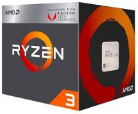 Процессор AMD RYZEN X4 R3-2200G SAM4 BOX 65W 3500  YD2200C5FBBOX