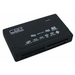 Купить Картридер CBR CR 455 All in one, USB 2.0, ноут., софттач