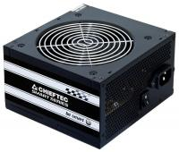 Блок питания Chieftec GPS-500A8 PSU 500W Smart ser ATX2.3 230V Brown Box 12cm 80%+ Fan Active PFC 20+4, 8(4+4)p,8(6+2)p, 4xSATA, 2xMolex+Floppy
