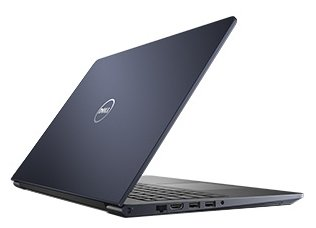 "Ноутбук 15.6"" Dell 5568-9836 Vostro 5568 Core i5 7200U/8Gb/SSD256Gb/Intel HD Graphics 620/FHD (1920x1080)/Linux Ubuntu/blue/WiFi/BT/Cam"