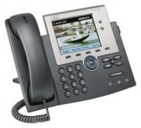 Проводной IP-телефон Cisco CP-7945G= UC Phone 7945, Gig Ethernet, Color, spare