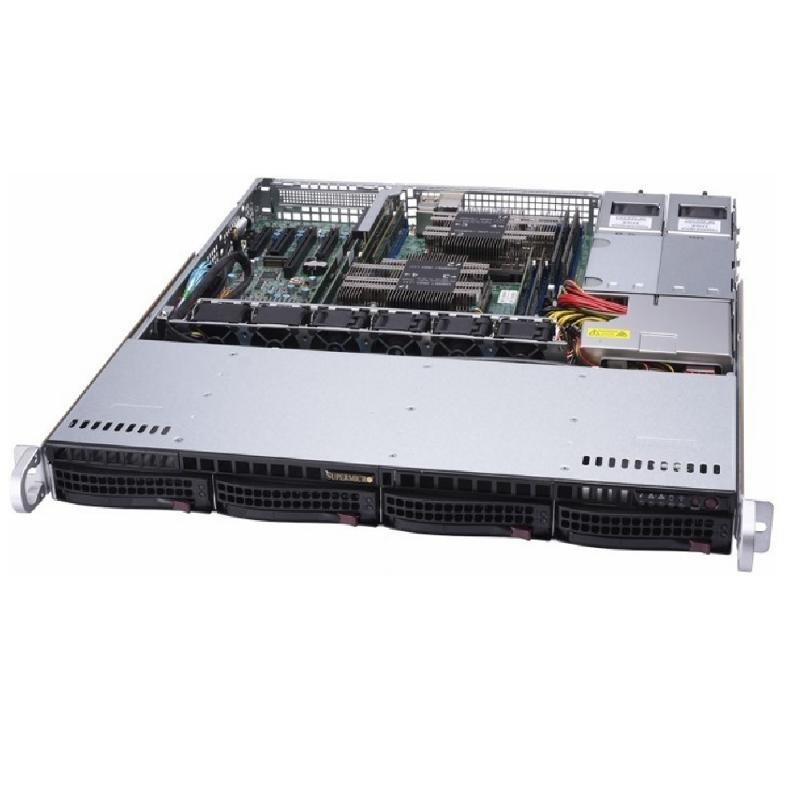 Серверная платформа Supermicro SYS-6019P-MTR 1U SATA  - купить со скидкой
