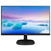 "Монитор 21,5"" Philips 223V7QHSB 1920x1080 IPS W-LED 16:9 5ms VGA HDMI 10M:1 178/178 250cd Tilt Black."