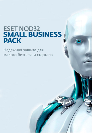 ПО ESET NOD32-SBP-NS(KEY)-1-15 ESD  NOD32 Small Business Pack