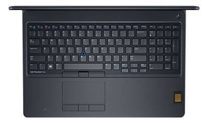 "Ноутбук 15.6"" Dell 7520-8024 Precision 7520 Core i7 7820HQ/16Gb/2Tb/SSD512Gb/nVidia Quadro M2200 4Gb/IGZO/UHD (3840x2160)/Windows 10 Professional 64/b"