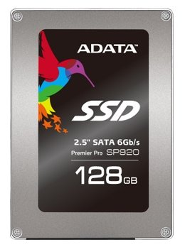 Твердотельный накопитель SSD 2.5'' A-Data ASP920SS3-128GM-C 128GB SP920 with Marvell controller and Synchronous MLC NAND flash
