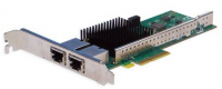 Сетевая карта Silicom 10Gb PE310G2i50-T Dual Port Copper 10 Gigabit Ethernet PCI Express Server Adapter X4 Gen 3.0, Based on Intel X550-AT2, RoHS compliant (analog X550T2)