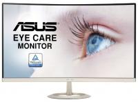 "Монитор 27"" ASUS VZ27VQ VA LED изогнутый, 1920x1080, 5ms, 250 cd/m, 100Mln:1, 178°/178°, D-Sub, HDMI"