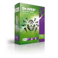 ПО Dr.Web BHW-B-12M-1-A3 DR.Web Security Space 1-Desktop 1 year Base Box