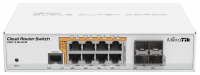Маршрутизатор MIKROTIK CRS112-8P-4S-IN 8PORT 1000M 4SFP