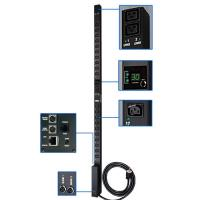 Источник бесперебойного питания Tripp Lite PDUMV32HV 7.4kW Single-Phase Metered PDU, 230V Outlets (8 C19 and 40 C13), IEC-309 32A Blue Input, 10 ft. C
