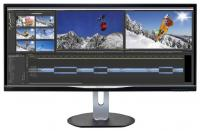 "Монитор 34"" Philips BDM3470UP (00/01) черный"