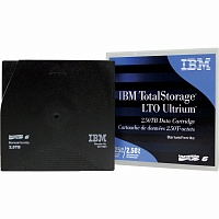 Жесткий диск IBM 00V7590L Ultrium LTO6 Tape Cartridge - 2.5TB with Label (1 pcs)