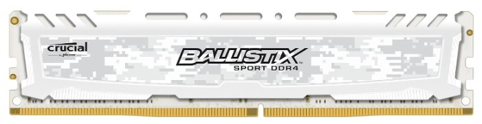 Купить Модуль памяти DDR4 16Gb 2666MHz Crucial BLS16G4D26BFSC RTL PC4-21300 CL16 DIMM 288-pin 1.2В kit