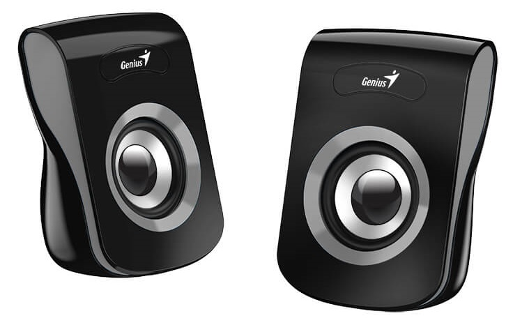 Акустическая система Genius Speaker System SP-Q180, 2.0, 6W(RMS), USB, Grey
