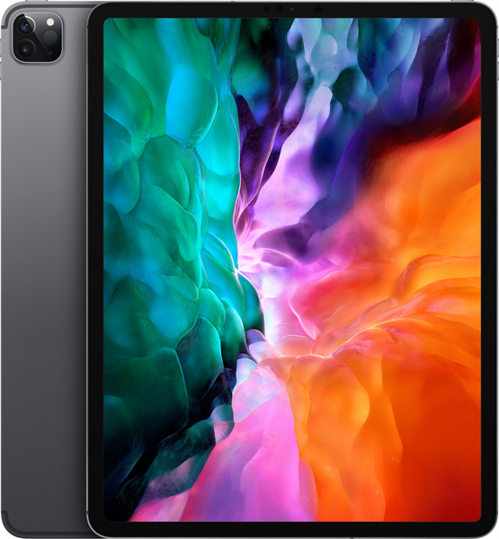 Планшет Apple 12.9-inch iPad Pro (2020) WiFi 128GB - Space Grey (rep.  MTEL2RU/A)