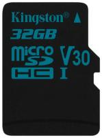 Флеш карта Kingston SDCG2/32GB microSDXC 32Gb Class10 Canvas Go + adapter