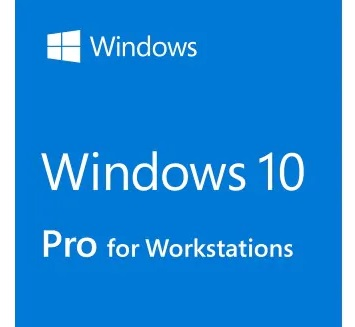 Право на использование программы Win Pro for Wrkstns 10 64Bit English 1pk DSP OEI DVD