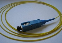 SC-полушнур AMP 5233266-2 900µ buffered fibre, SM 9/125, 2m