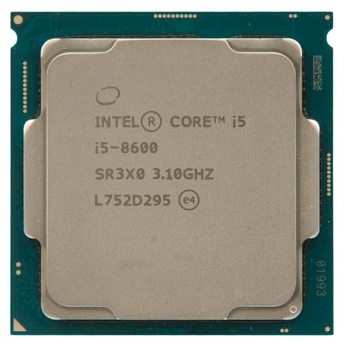 Процессор Intel CORE I5-8600K S1151 BOX 3.6G  BX80684I58600KSR3QU