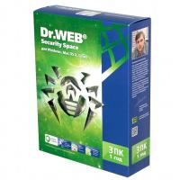 ПО Dr.Web BHW-B-12M-3-A3 DR.Web Security Space 3 ПК/1 год