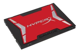 "Твердотельный накопитель Kingston SHSS37A/960G SSD 2.5"" Kingston 960Gb HyperX Savage <SHSS37A/960G> (SATA3, up to 520/490Mbs, 99000 IOPS, Phison PS311"