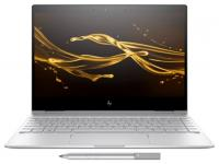 Ноутбук HP 2VZ68EA Spectre x360 13-ae008ur Core i5 8250U/8Gb/SSD256Gb/Intel HD Graphics 620/UWVA/Touch/FHD (1920x1080)/Windows 10 64/silver/WiFi/BT/