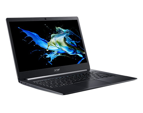 "Ноутбук ACER TravelMate X5 TMX514-51-76CT, 14"" FHD (1920х1080) IPS, i7-8565U 1.80 Ghz, 16 GB DDR4, 512GB PCIe NVMe SSD, UHD Graphics 620, WiFi, BT, HD Camera, FPR, 2cell, 45W, Win 10 Pro, 3 CI, Black, 0.98kg"