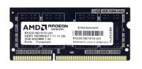 Модуль памяти AMD 4GB AMD Radeon™ DDR3 1333 SO DIMM R3 Value Series Black R334G1339S1S-UO Non-ECC, CL9, 1.5V, Bulk