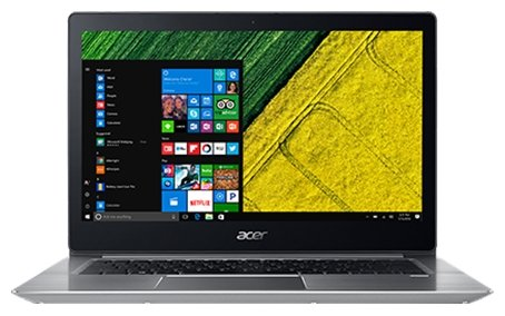 Ноутбук Acer NX.GQGER.003 Swift 3 SF314-52-558F Core i5 8250U/8Gb/SSD256Gb/Intel UHD Graphics 620/FHD (1920x1080)/Linux/silver/WiFi/BT/Cam